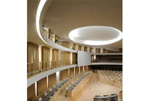 Conception générale de l'éclairage architectural et fonctionnel de l'Hôtel de Région Rhone Alpes