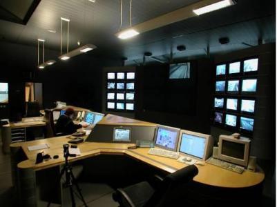 Salle de contrôle de circulation routière, CORALY Lyon